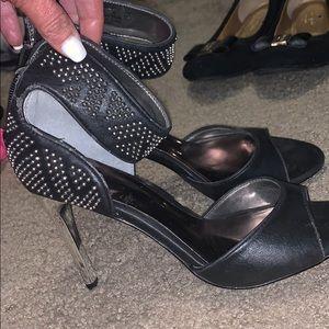 Carlos Santana black  heels new